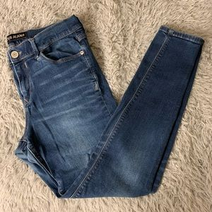Express mid rise legging jeans